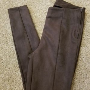 NWOT- LOFT Faux Suede Riding Style Pants